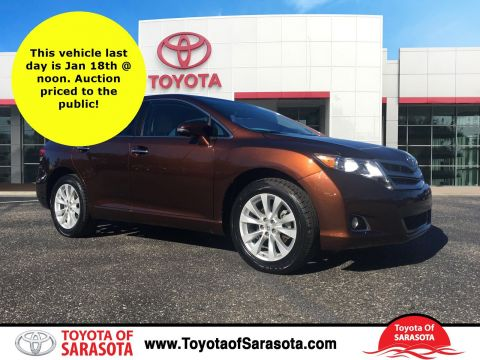 Certified Used Toyota Venza XLE