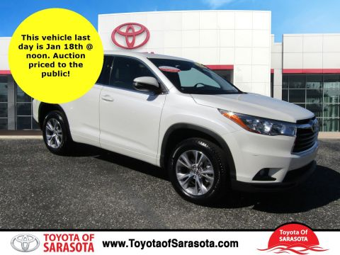 Certified Used Toyota Highlander LE PLUS