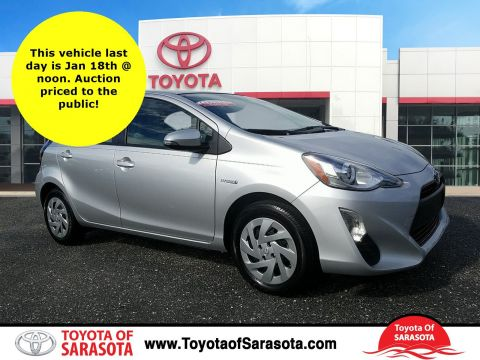 Certified Used Toyota Prius C One