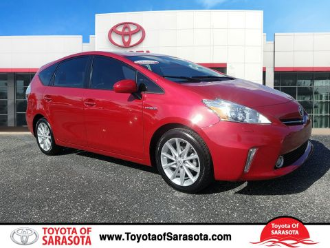 Certified Used Toyota Prius V v Five Hybrid
