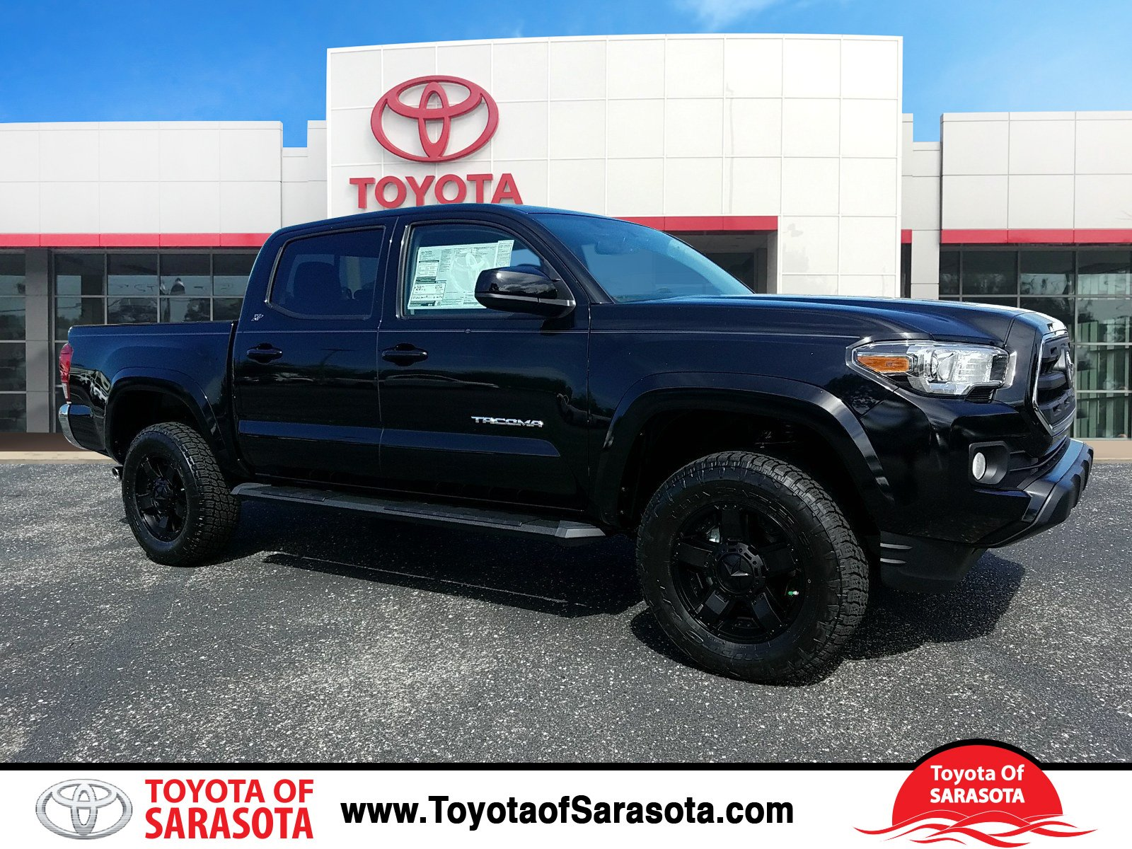 new 2017 toyota tacoma 4x4 double cab sr5 v6 short bed hm083116 peterson toyota of sarasota. Black Bedroom Furniture Sets. Home Design Ideas
