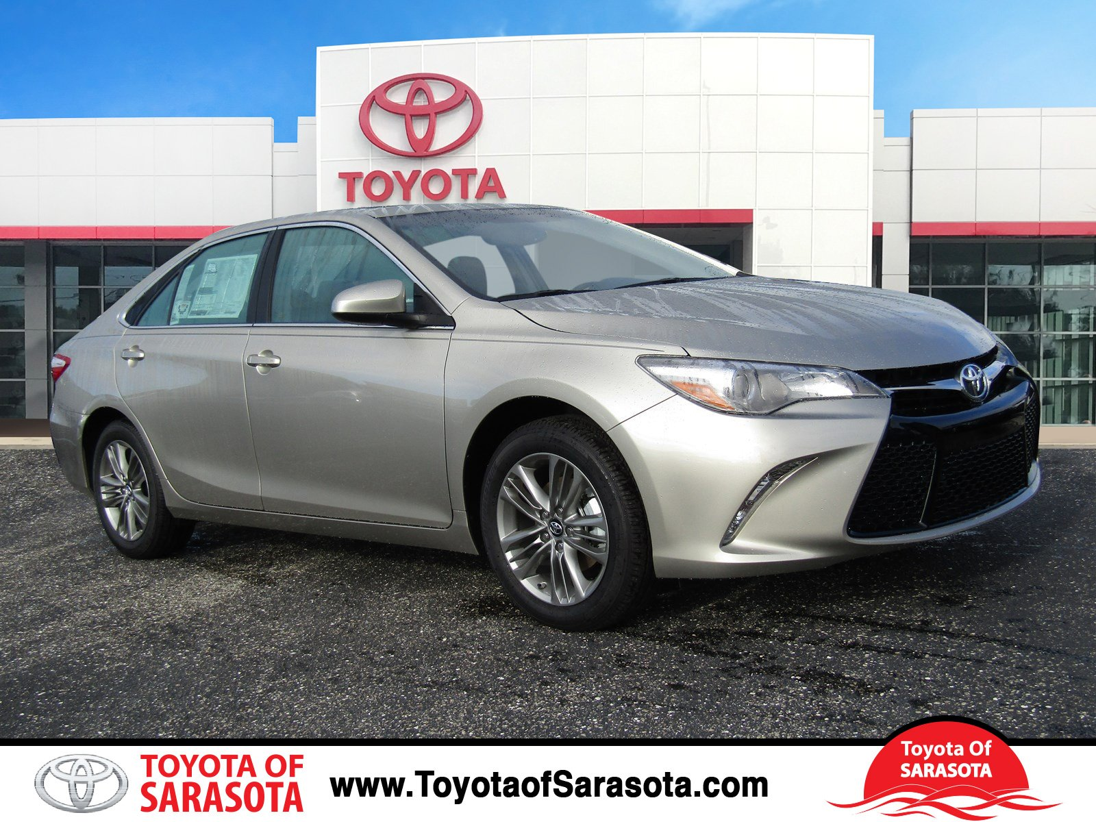 new 2017 toyota camry se 4d sedan in sarasota hu344803 toyota of sarasota. Black Bedroom Furniture Sets. Home Design Ideas
