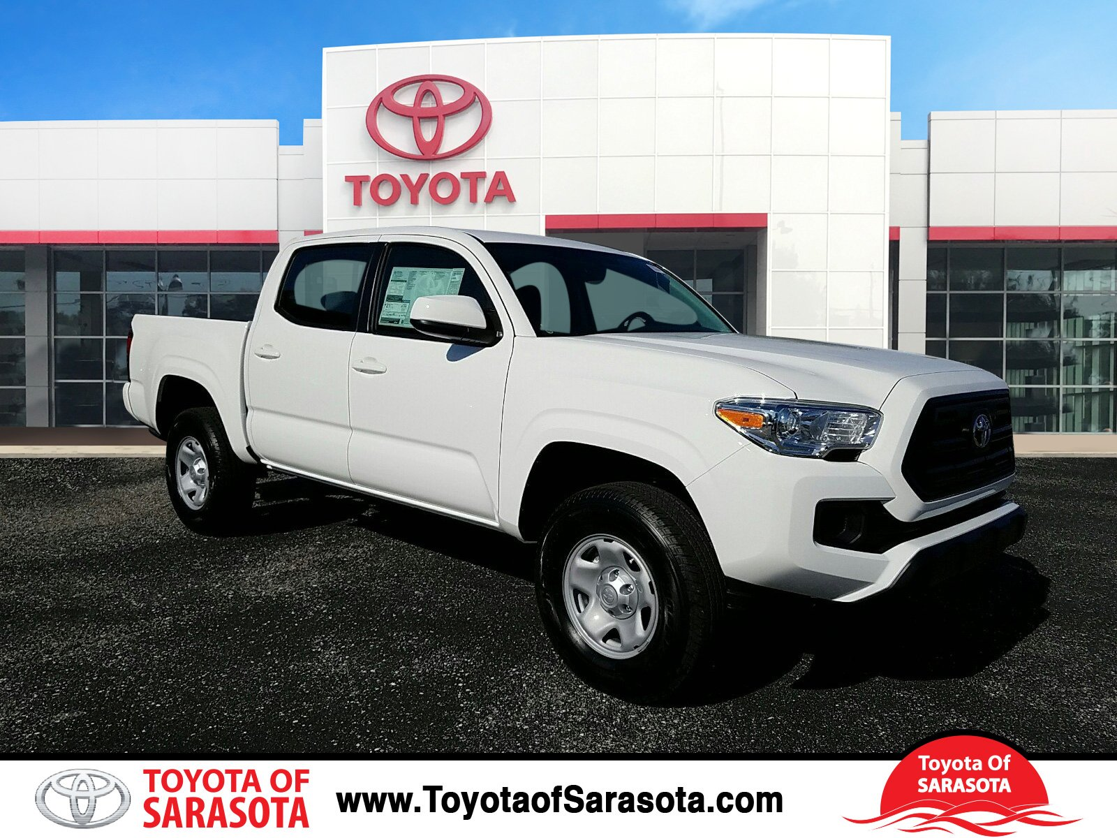 new 2017 toyota tacoma 4x2 double cab sr short bed hx096513 peterson toyota of sarasota. Black Bedroom Furniture Sets. Home Design Ideas