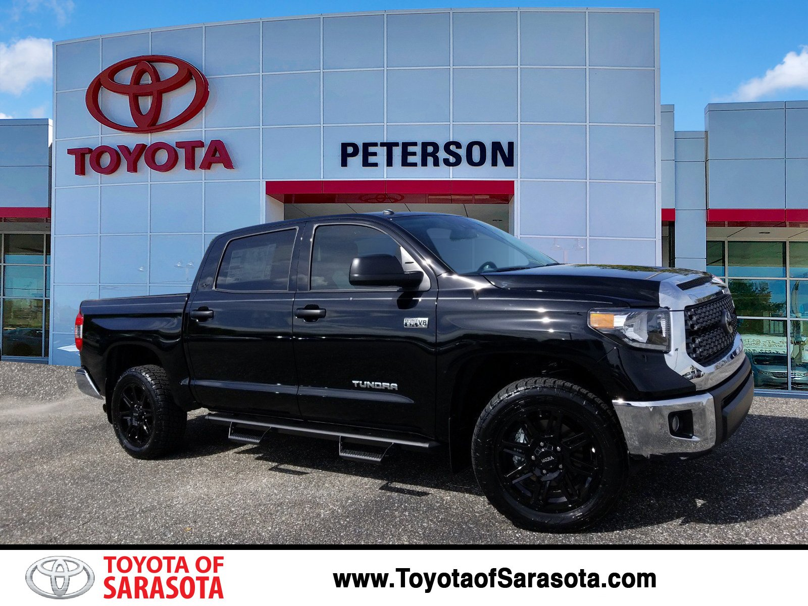 New 2019 Toyota Tundra Sr5 Kx780642 Peterson Toyota Of Sarasota