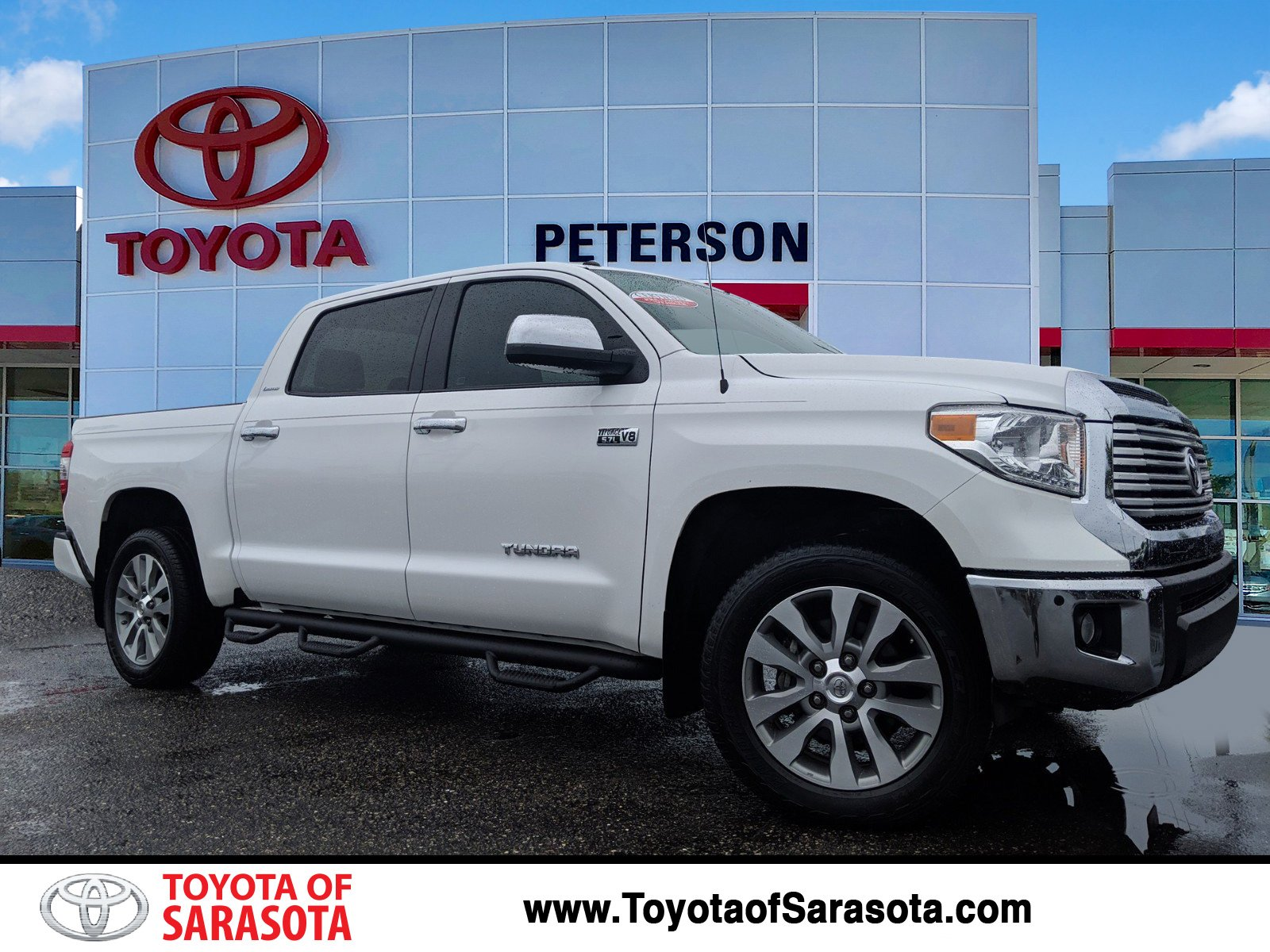 Certified Pre Owned 2017 Toyota Tundra Limited
