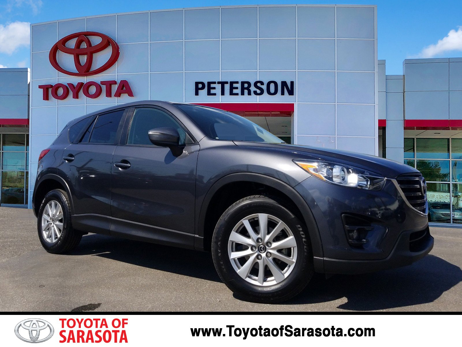 pre-owned 2016 mazda cx-5 touring | #ks044797a | peterson toyota of