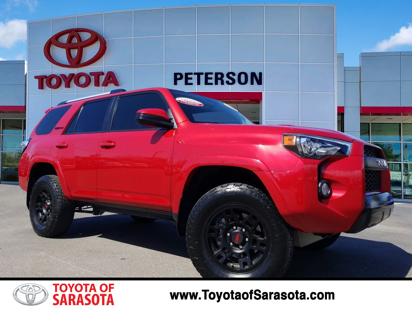 Certified Pre Owned 2017 Toyota 4runner Trd Pro