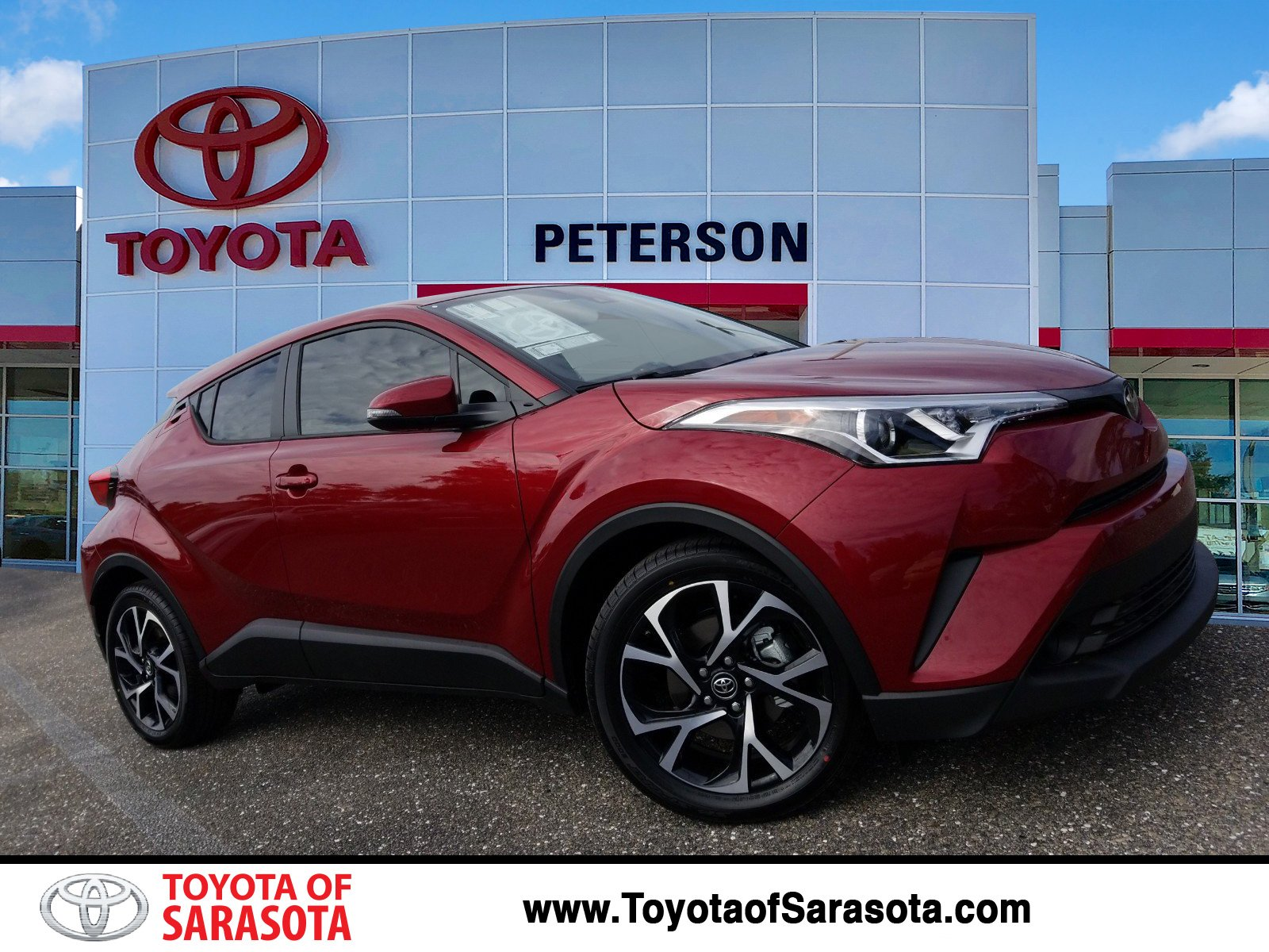 New 2019 Toyota C Hr Xle Kr075771 Peterson Toyota Of Sarasota