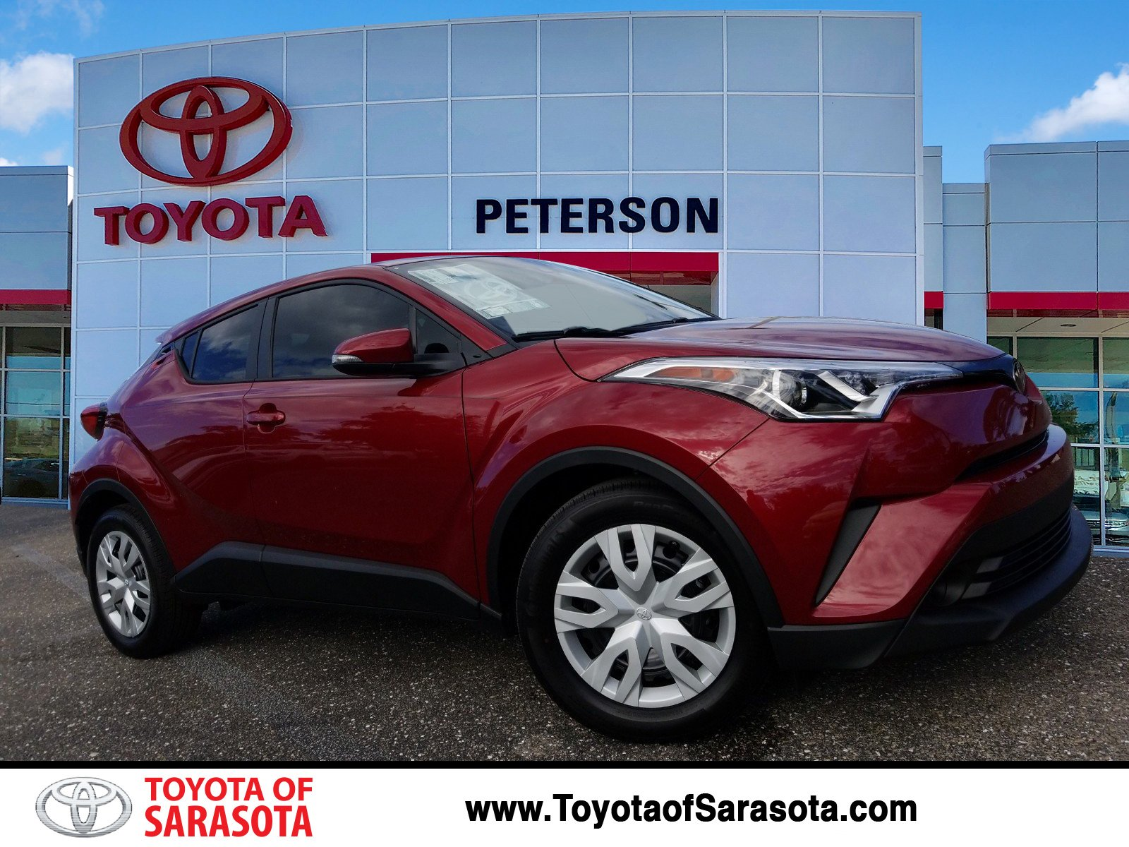 New 2019 Toyota C Hr Le Kr074461 Peterson Toyota Of Sarasota
