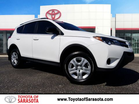 Certified Pre-Owned 2014 Toyota RAV4 LE