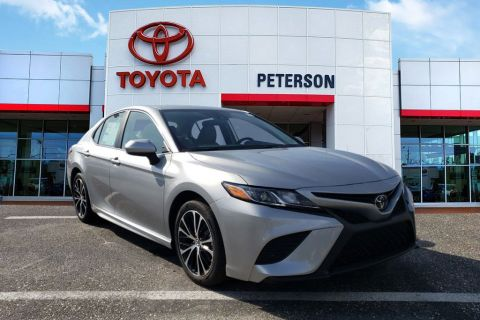 New 2020 Toyota Camry SE Cars FWD