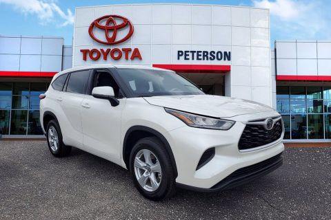 New 2020 Toyota Highlander L SUVs FWD