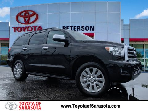 Certified Pre-Owned 2015 Toyota Sequoia Platinum