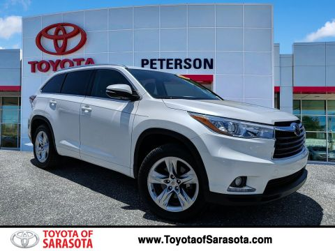 Certified Pre-Owned 2014 Toyota Highlander Limited Platinum V6