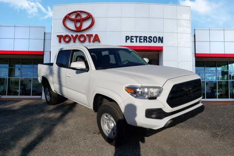 New 2019 Toyota Tacoma SR Double Cab 5' Bed I4 AT (Natl)