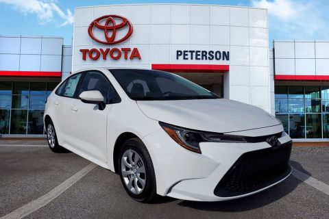 New 2020 Toyota Corolla LE Cars FWD