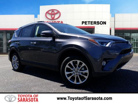 New 2018 Toyota RAV4 Limited With Navigation & AWD